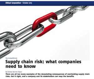 GlobalEthicist Supply Chain photo